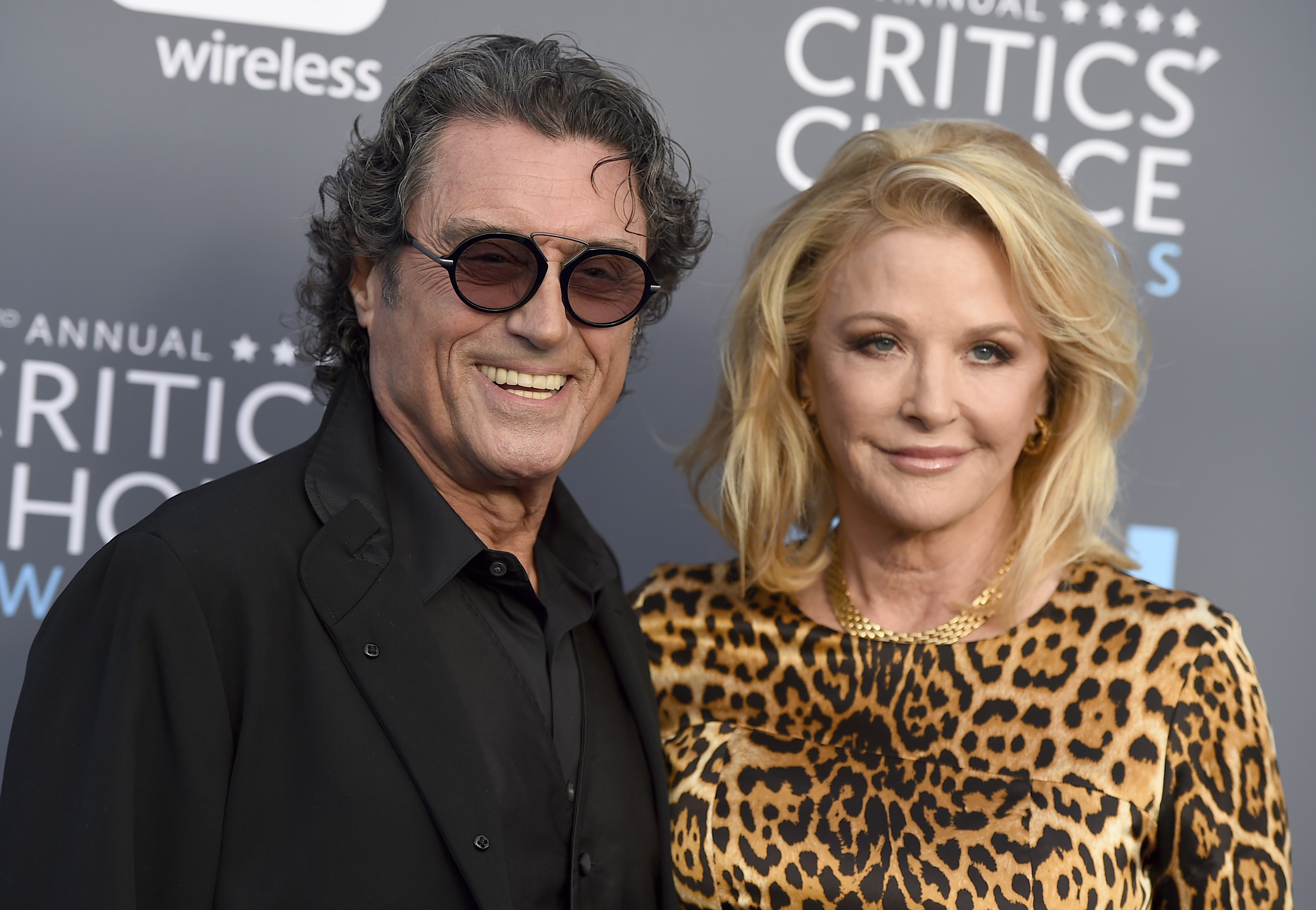 <div class='meta'><div class='origin-logo' data-origin='AP'></div><span class='caption-text' data-credit='Jordan Strauss/Invision/AP'>Ian McShane, left, and Gwen Humble arrive at the 23rd annual Critics' Choice Awards at the Barker Hangar on Thursday, Jan. 11, 2018, in Santa Monica, Calif.</span></div>