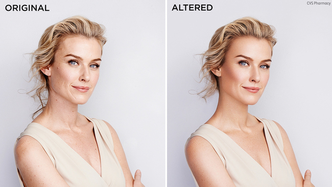 cvs to stop using altered images in ads by 2020