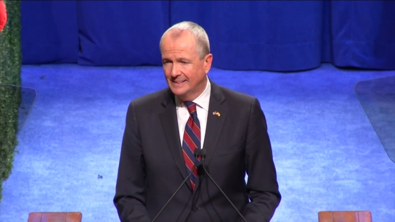 Democrat Phil Murphy sworn in to replace Gov. Christie