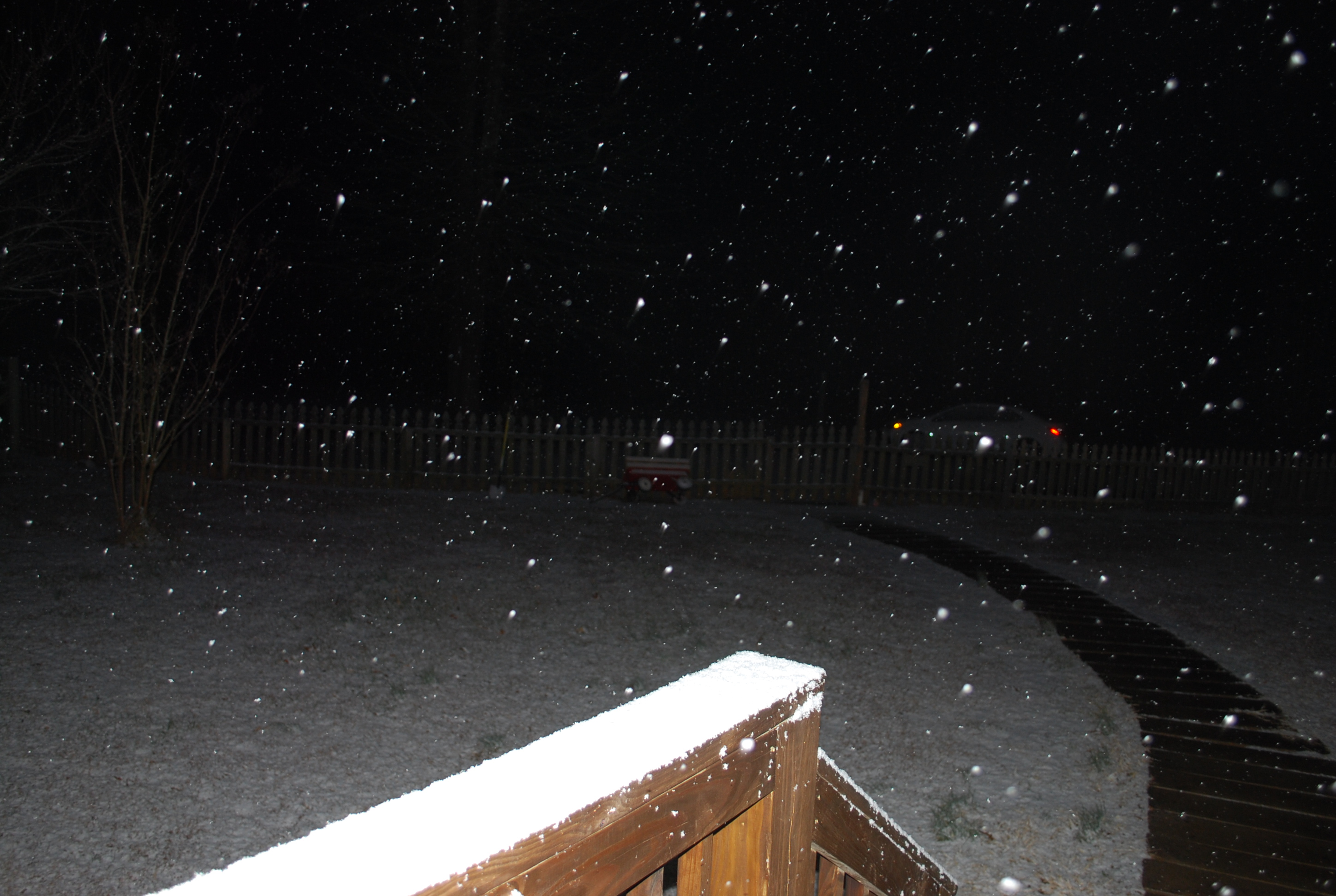 <div class='meta'><div class='origin-logo' data-origin='none'></div><span class='caption-text' data-credit='Credit:  Kenneth Hendry'>Snow in Granville County</span></div>