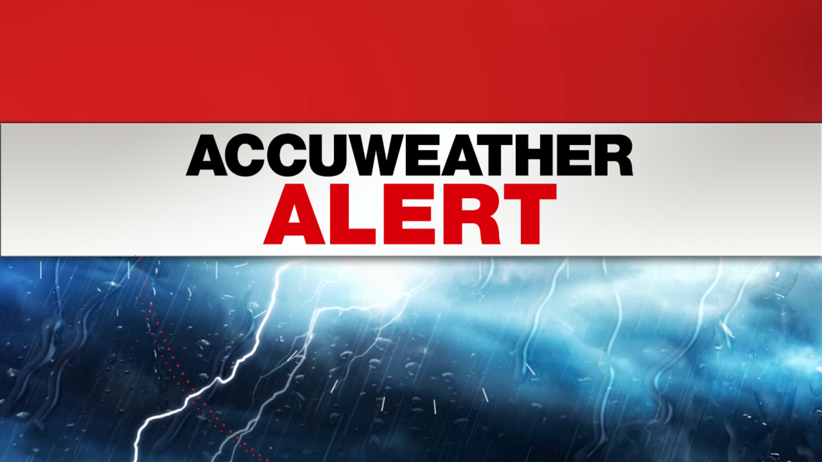accuweather alert  thunderstorms expected overnight