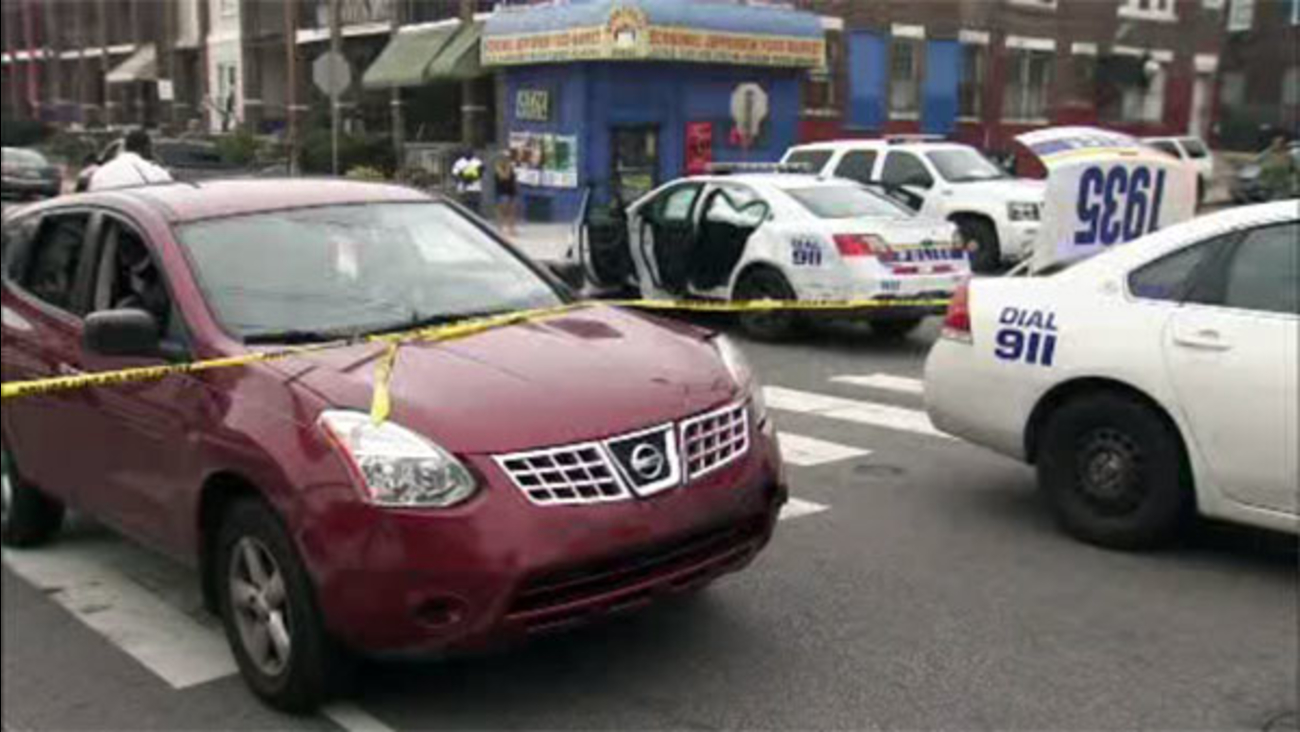 Woman Crashes Into Police Cruiser In Overbrook 6abc Com