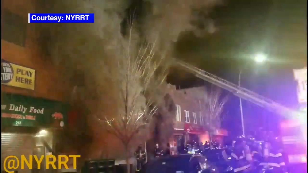 3 Alarm Fire Burns Through Commercial Building In Bath