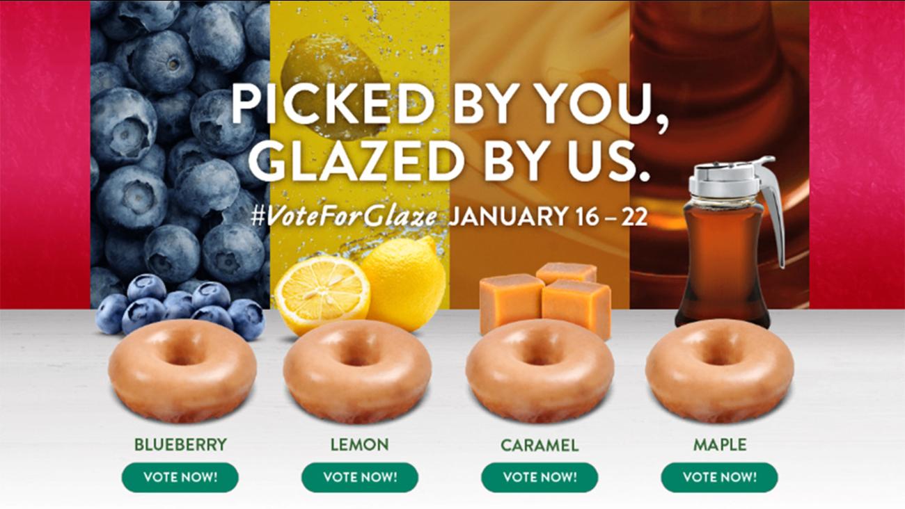 Krispy Kreme Asking Fans To Vote On New Doughnut Flavor Kripiss Medan Karamel