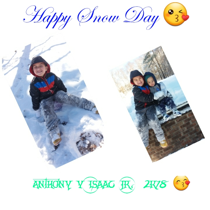 "<div class=""meta image-caption""><div class=""origin-logo origin-image wtvd""><span>WTVD</span></div><span class=""caption-text"">Two bundles of joy! Anthony and Isaac Jr are happy being able to play in the snow, (Angela Lopez - ABC11 Eyewitness)</span></div>"