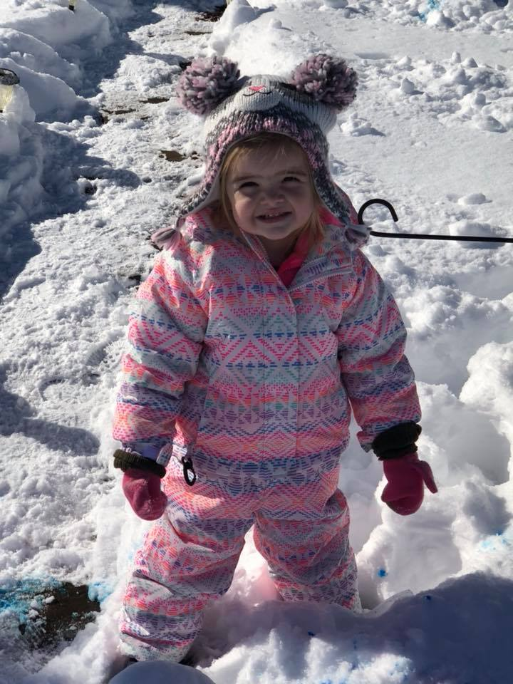 """<div class=""""meta image-caption""""><div class=""""origin-logo origin-image wtvd""""><span>WTVD</span></div><span class=""""caption-text"""">This is Brielle in Rougemont; she loves the snow! (Makayla Mckay - ABC11 Eyewitness)</span></div>"""