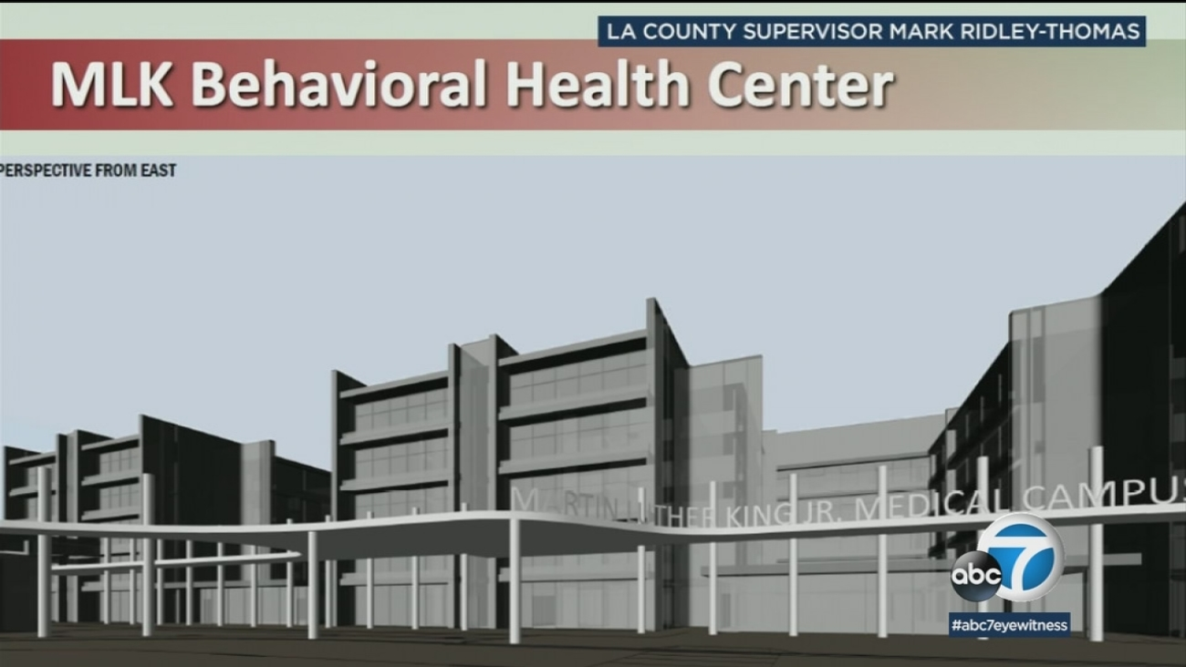 State Of The Art Behavioral Health Facility Proposed For Mlk
