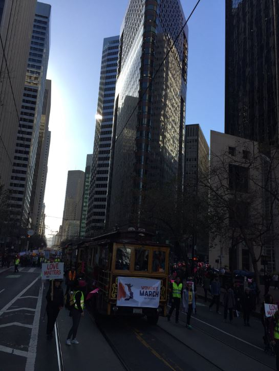 "<div class=""meta image-caption""><div class=""origin-logo origin-image none""><span>none</span></div><span class=""caption-text"">Demonstrators are seen in San Francisco on Saturday, Jan. 20, 2018. (KGO-TV)</span></div>"
