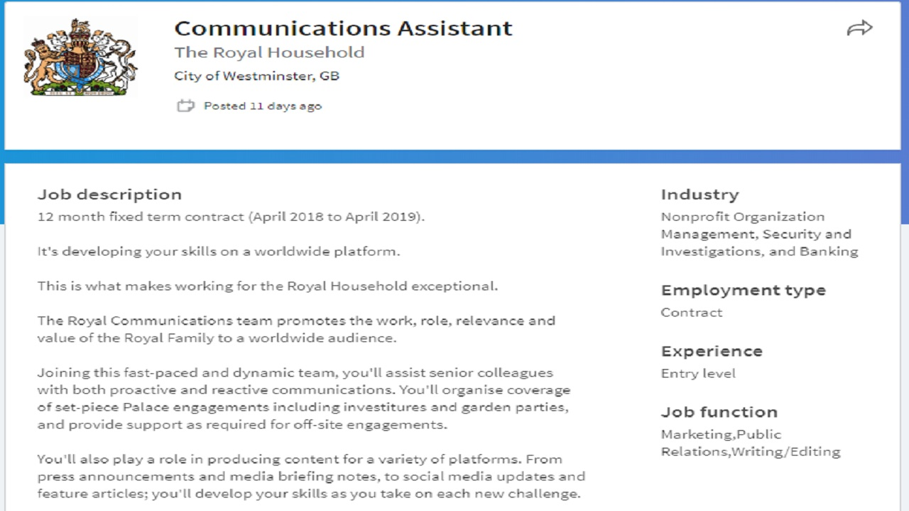 Communications Assistant   www.imagenesmy.com