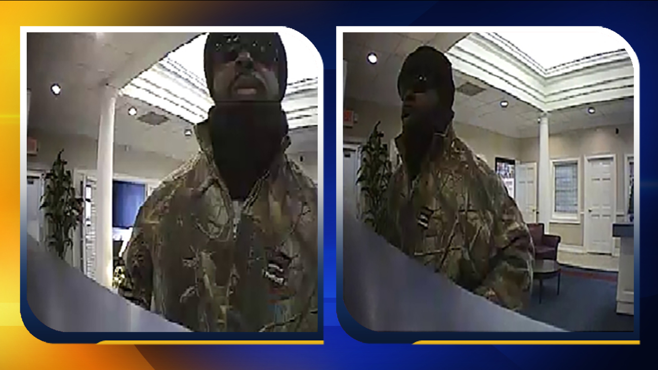 Surveillance video of the Graham bank robbery suspect.
