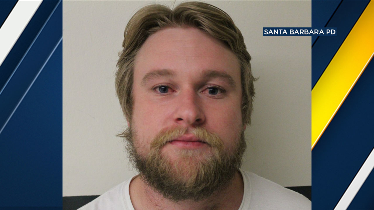 Nicholas B. Hart of Goleta is accused of driving drunk with a suspended license and critically injuring a 91-year-old man in Santa Barbara.