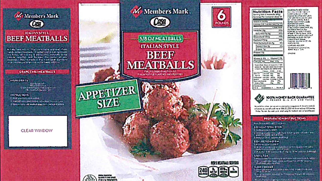 Don't eat these meatballs.