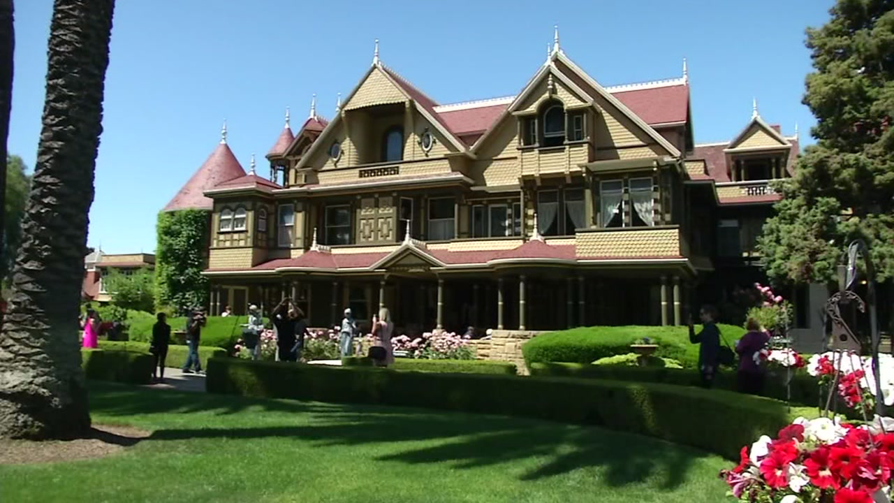The Winchester Mystery House in San Jose, Calif. is pictured in this undated file photo.