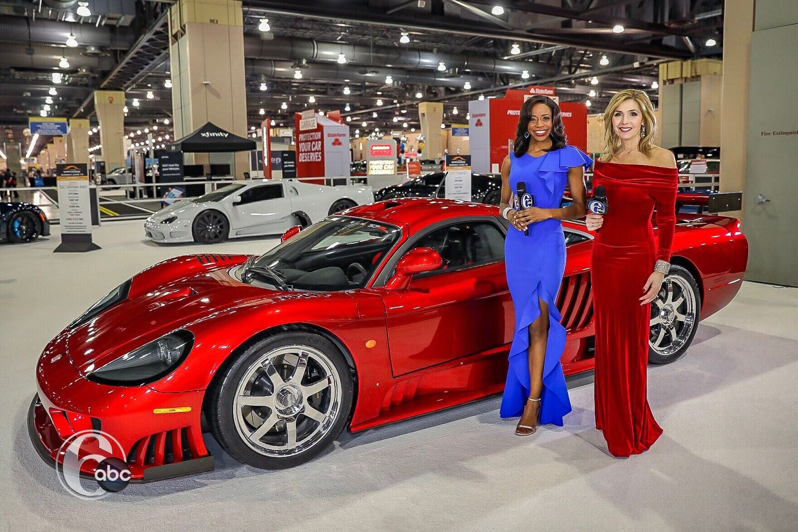 PHOTOS Philadelphia Auto Show Black Tie Tailgate Abccom - Philadelphia car show 2018