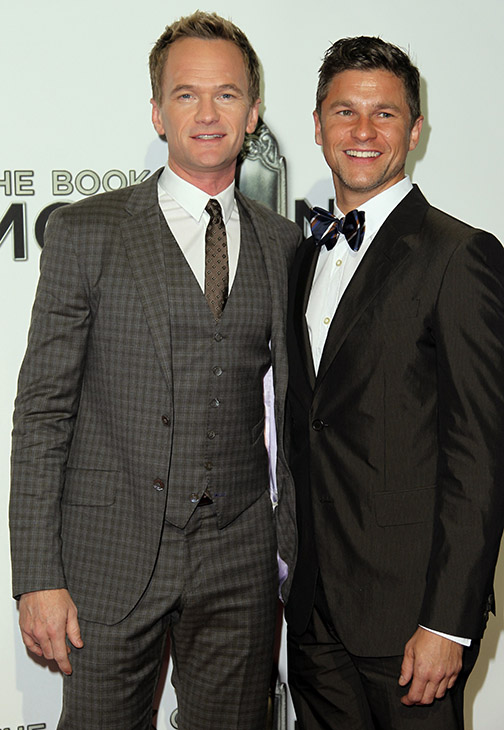 "<div class=""meta image-caption""><div class=""origin-logo origin-image ""><span></span></div><span class=""caption-text"">Neil Patrick Harris, left, and David Burtka attend the West Coast premiere of ""The Book of Mormon"" at the Pantages Theatre on Wednesday, Sept. 12, 2012, in Los Angeles. (AP)</span></div>"