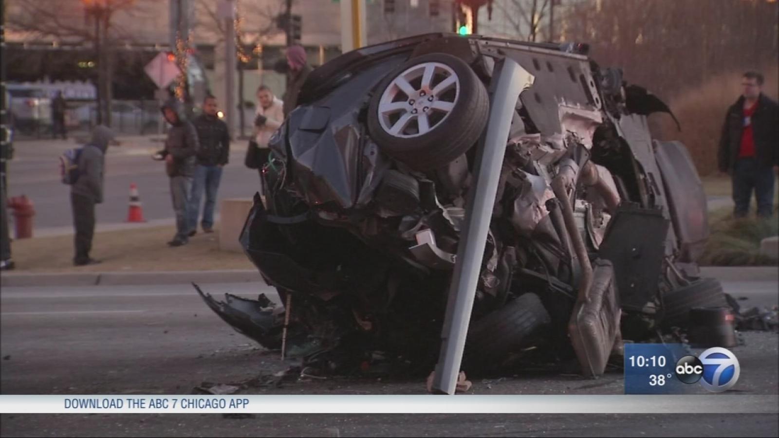 Fatal 8-vehicle Crash Closes Intersection Near Congress