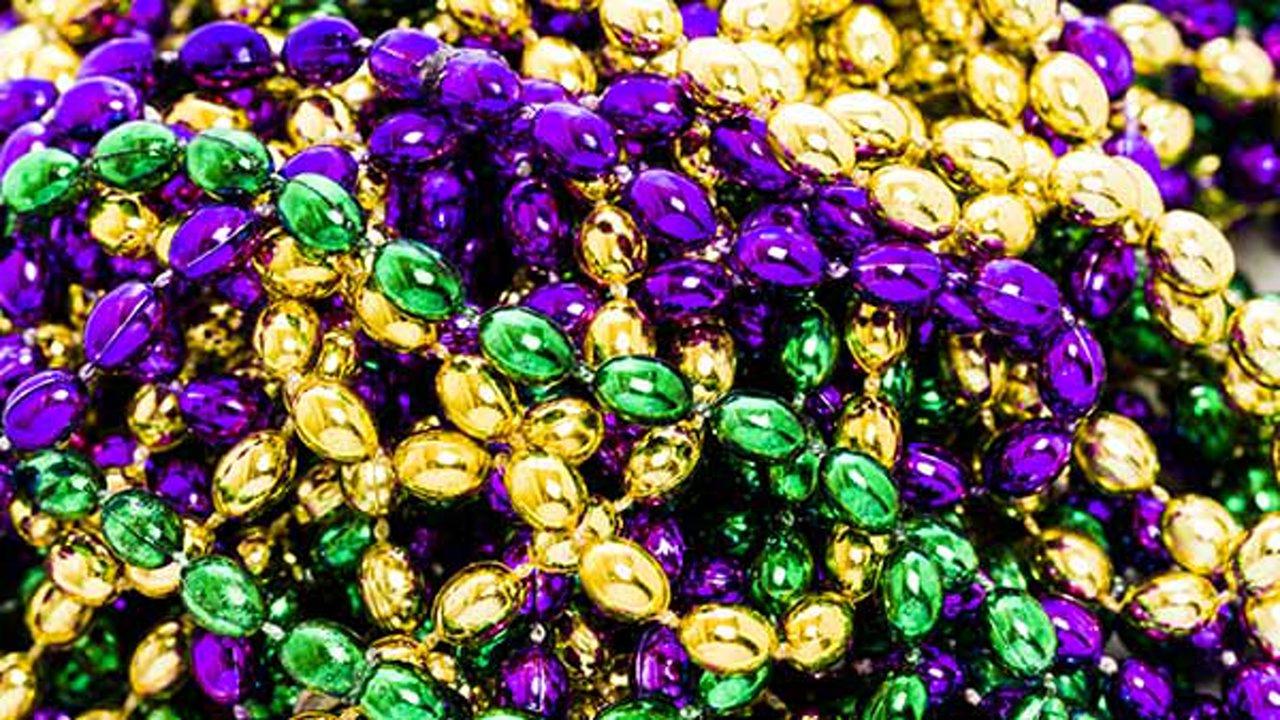 beads Mardi gras