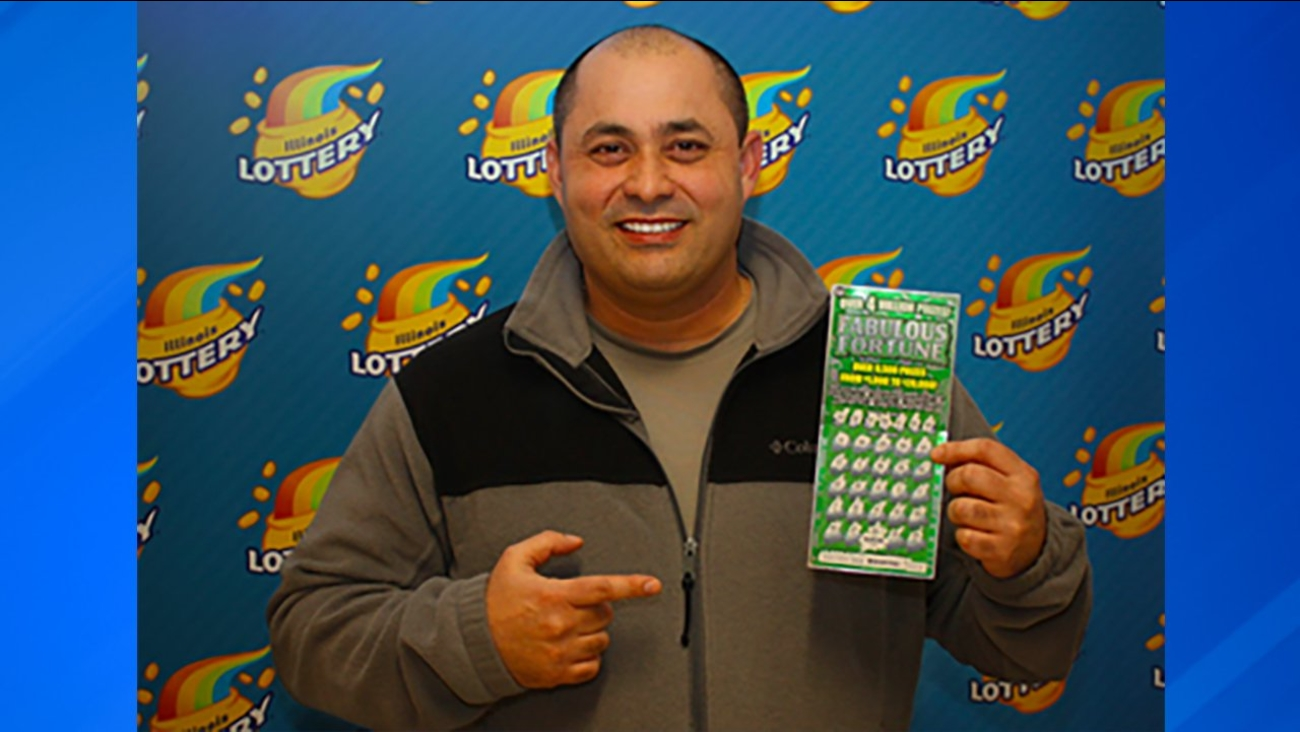 Chicago man wins $4 million playing Illinois Lottery instant game