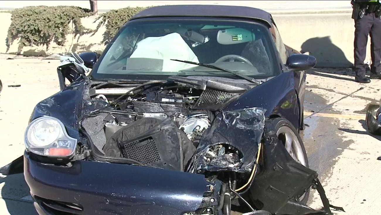 1 injured Durham County wreck