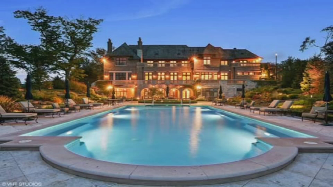 PHOTOS: Barrington Hills Mansion Named U0027most Beautiful Home For Saleu0027 In  Illinois | Abc7chicago.com