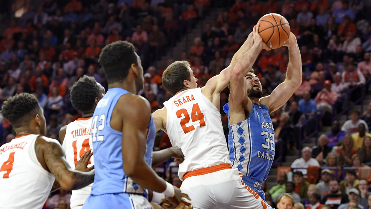 Luke Maye and the Tar Heels came up short for the third consecutive game.