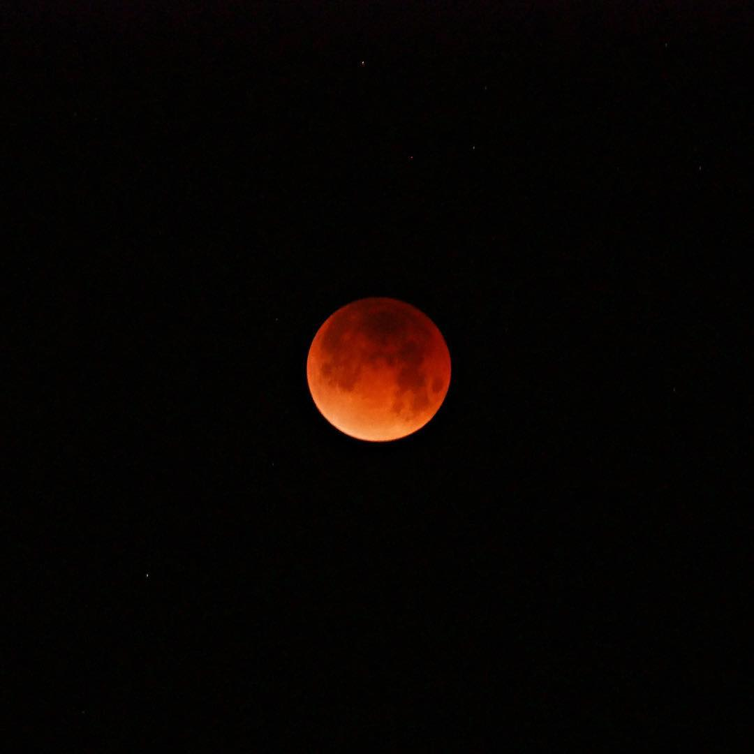 <div class='meta'><div class='origin-logo' data-origin='none'></div><span class='caption-text' data-credit='Adrienne Shubin/Instagram'>ABC7 viewers are sharing photos of the super blue blood moon on Wednesday, January 31, 2018.</span></div>