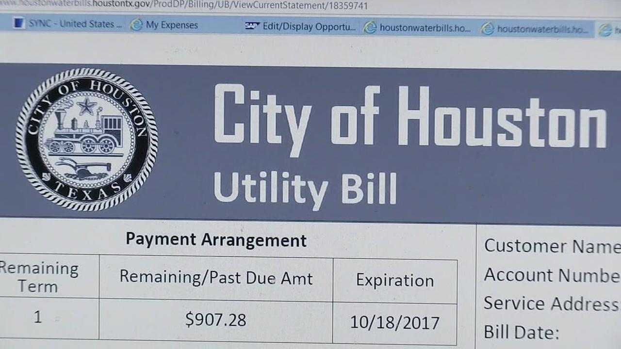city of houston water bill choice image