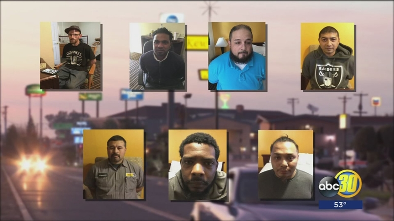 9 pimps and johns arrested in Merced as part of statewide crackdown on sex  trafficking