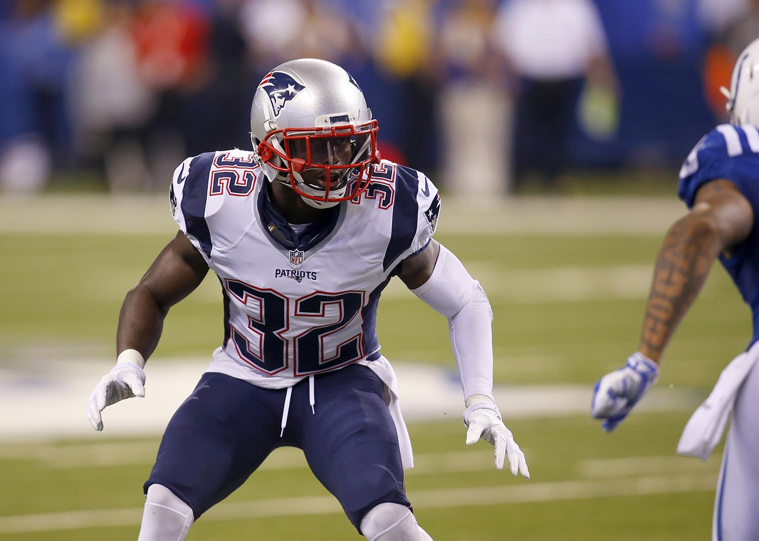 "<div class=""meta image-caption""><div class=""origin-logo origin-image ap""><span>AP</span></div><span class=""caption-text"">New England Patriots' free safety Devin McCourty is a native of Nyack, NY and also attended Rutgers University in New Brunswick, NJ. (Jeff Haynes/AP Images for Panini)</span></div>"