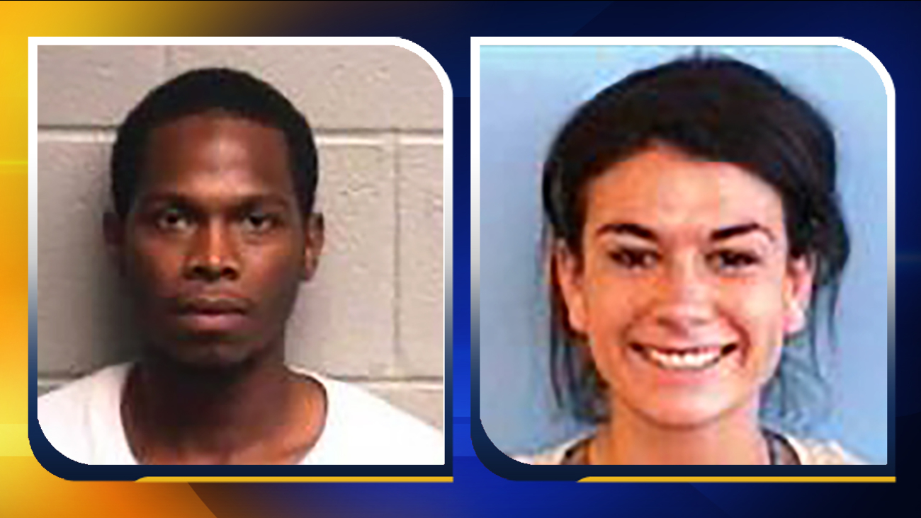 Tyrone Stanback Jr., left, and Danon Elora Hirsch