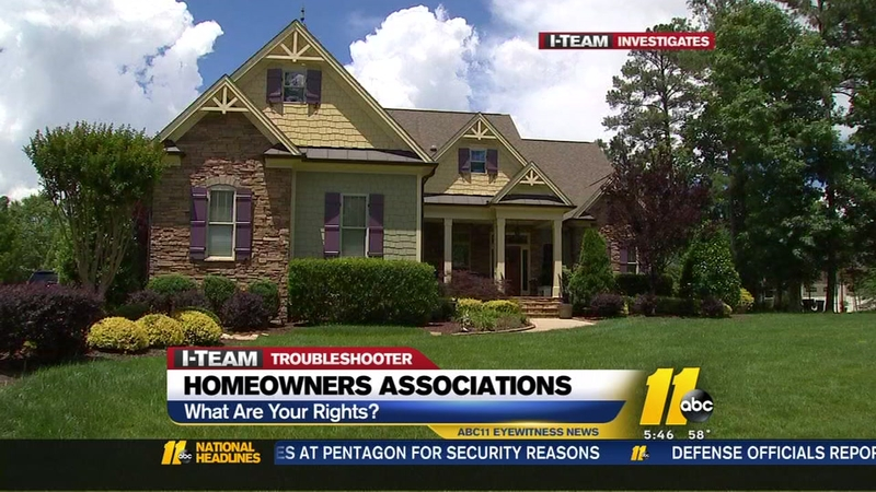 Resident fights back against homeowners association
