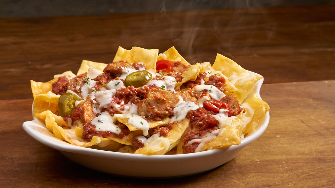Olive Garden\'s \'Italian nachos:\' Meet the new loaded pasta chips ...