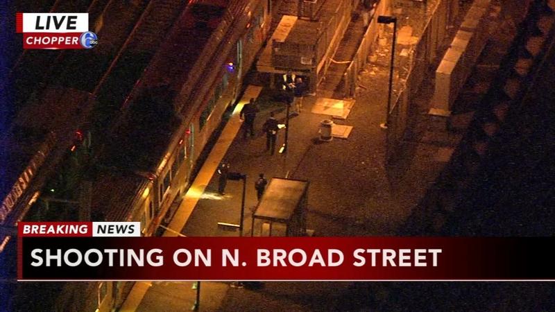 Man shot in the back in North Philadelphia