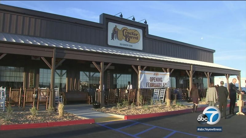 Cracker Barrel Comes To Southern California Abc7 Los Angeles