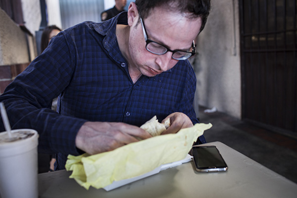 "<div class=""meta image-caption""><div class=""origin-logo origin-image ""><span></span></div><span class=""caption-text"">Nate Silver digs into a burrito from Al & Bea's Mexican Food in Los Angeles. (Anna Maria Barry-Jester/FiveThirtyEight)</span></div>"