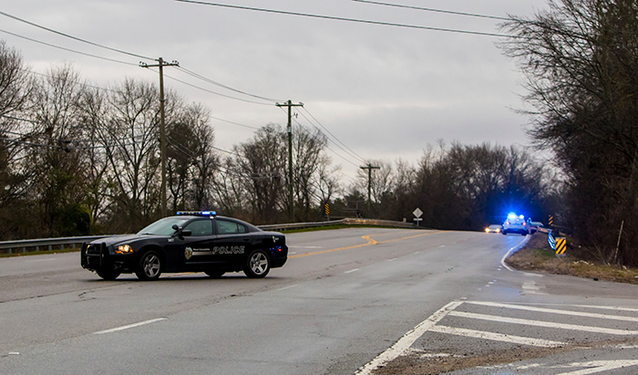 <div class='meta'><div class='origin-logo' data-origin='AP'></div><span class='caption-text' data-credit=''>West Columbia police direct people away from the site of an early morning train crash Sunday, Feb. 4, 2018, in Cayce, SC. (AP Photo/Jeff Blake)</span></div>