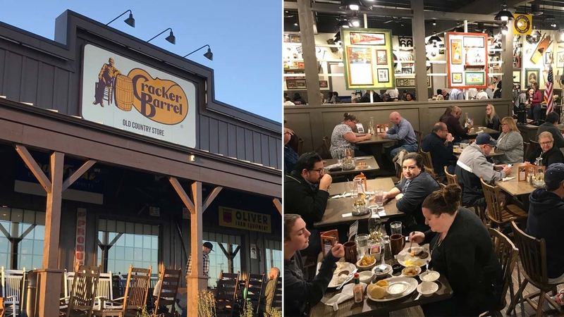 Cracker Barrel In California First Location Opens In Victorville