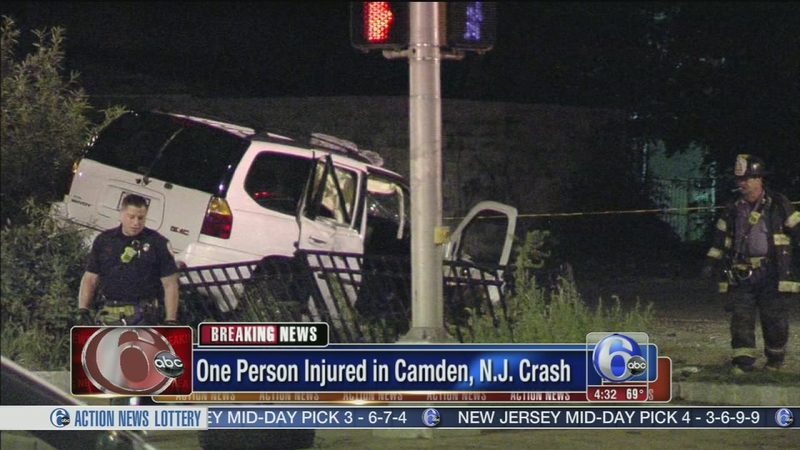 VIDEO: Driver crashes twice within minutes in Camden
