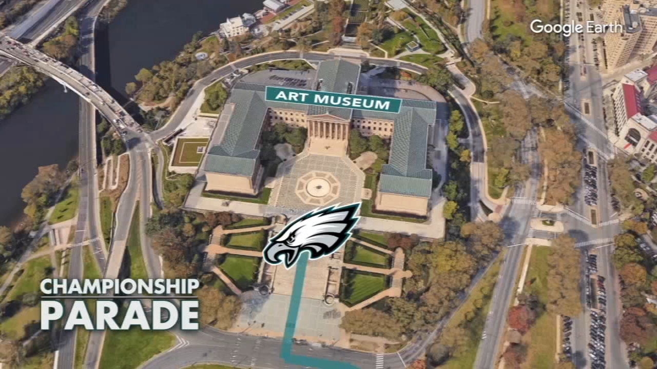 Here are the details for Eagles Super Bowl parade and ceremony on Thursday ce6f351e8
