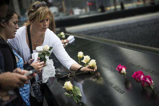 September 11th Ceremony At Ground Zero 13th Anniversary