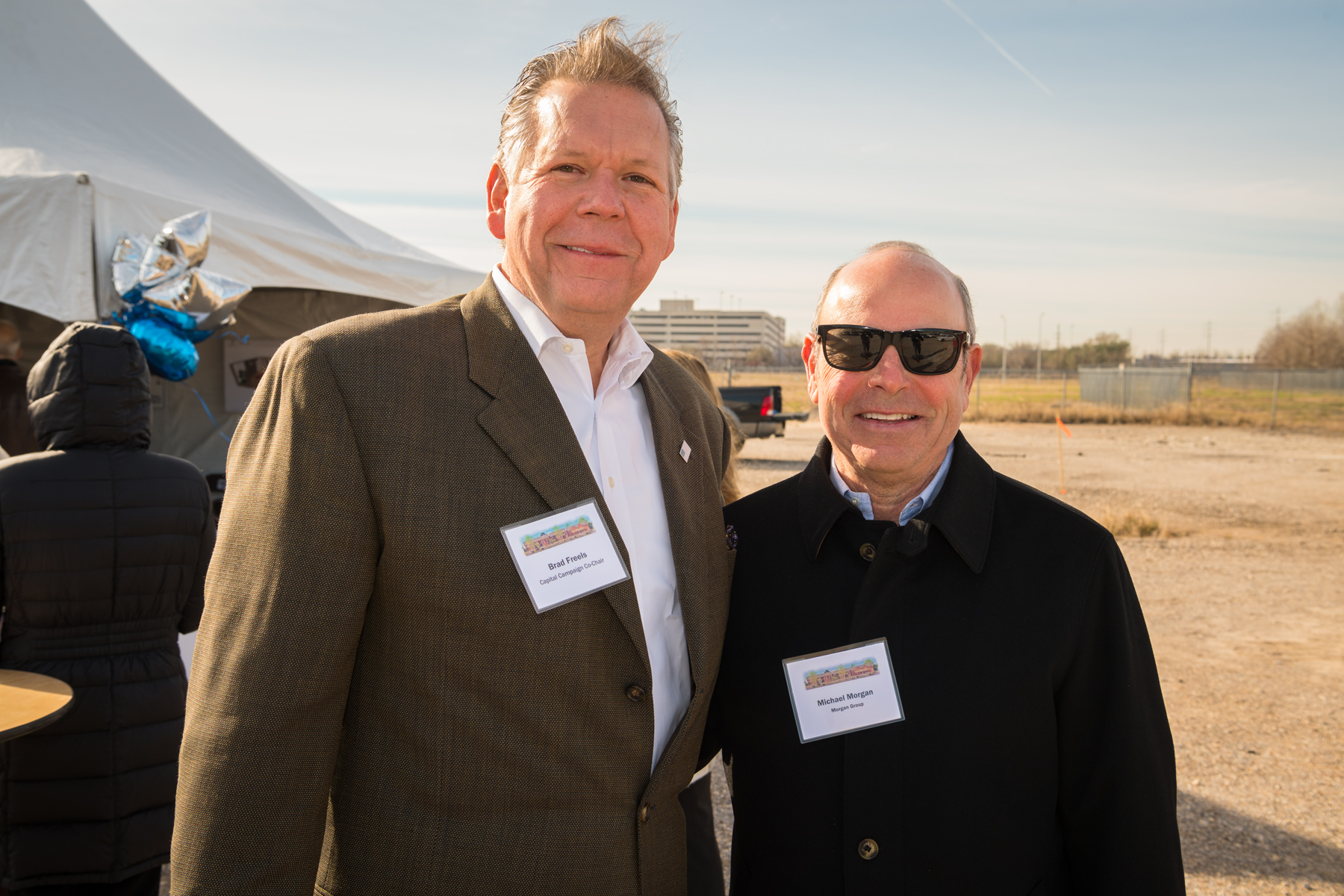 "<div class=""meta image-caption""><div class=""origin-logo origin-image ktrk""><span>KTRK</span></div><span class=""caption-text"">Bradley Freels of Midway & Michael Morgan of The Morgan Group</span></div>"