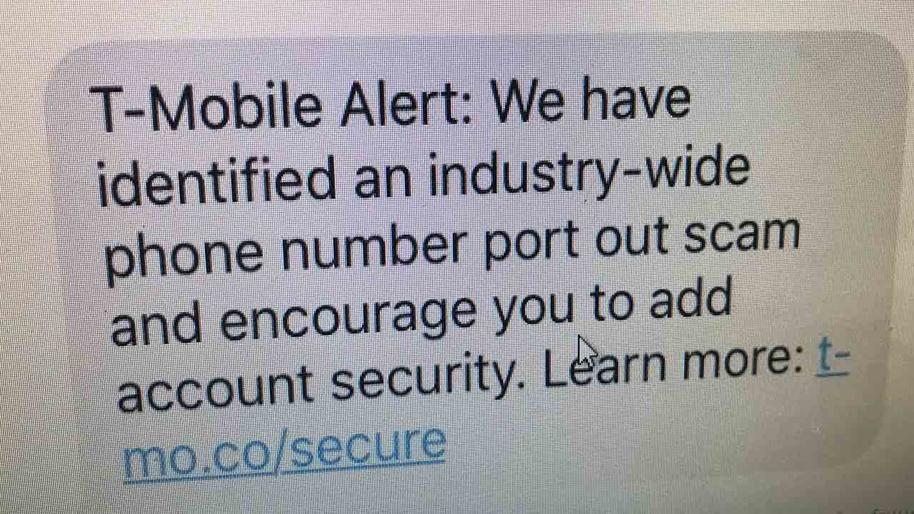 T-Mobile warns about scam targeting your phone number to steal your
