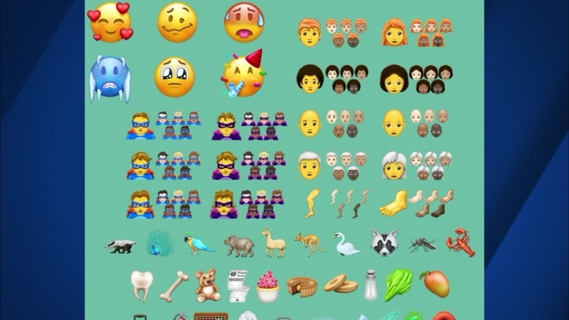 New emojis coming to a phone near you