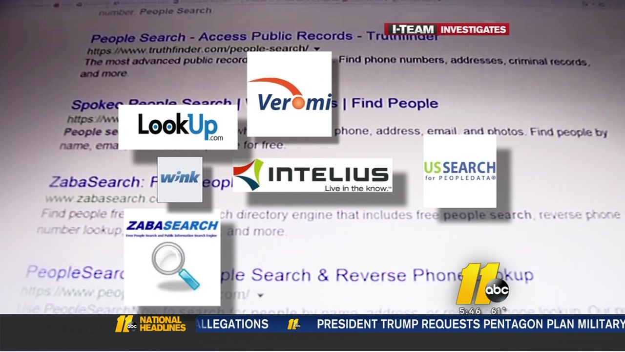 How to get your personal info out of online searches