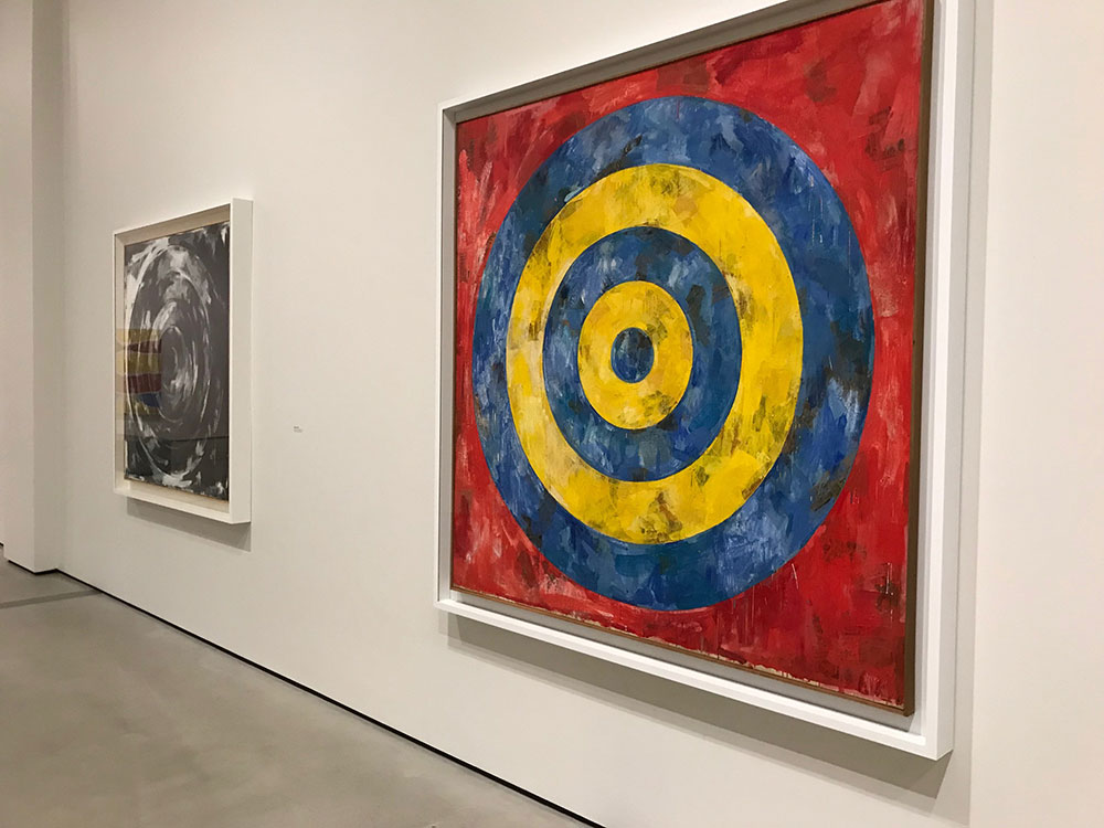 <div class='meta'><div class='origin-logo' data-origin='KABC'></div><span class='caption-text' data-credit=''>The first major U.S. exhibit of artist Jasper Johns in 20 years opens at The Broad Saturday.</span></div>