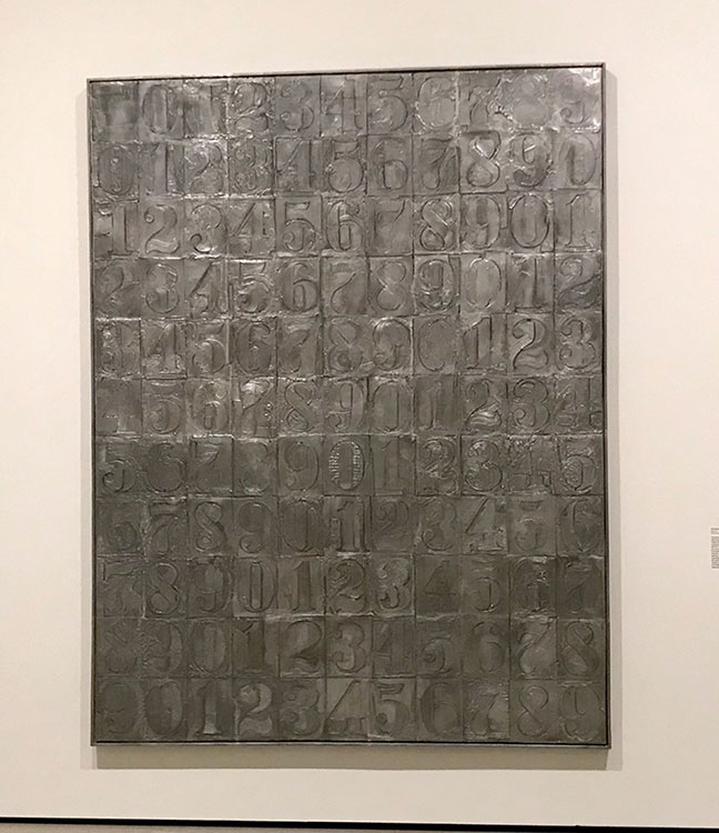 <div class='meta'><div class='origin-logo' data-origin='KABC'></div><span class='caption-text' data-credit=''>A exhibit of works by artist Jasper Johns is opening at LA's Broad museum.</span></div>