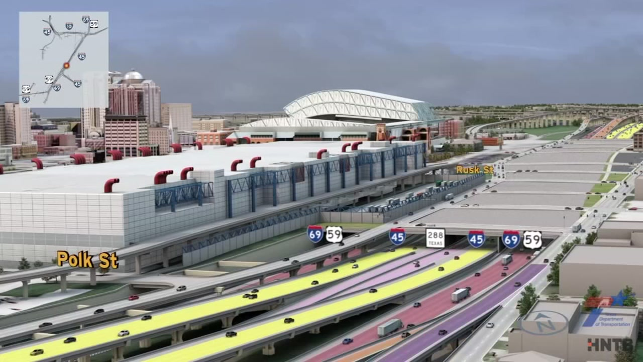 I-45 ramp closure in Houston will affect downtown commute