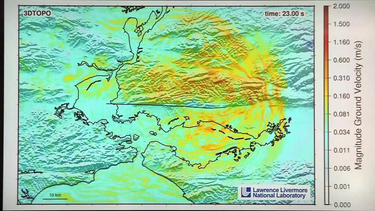 New simulation shows destruction of 7.0 quake on Hayward Fault ...