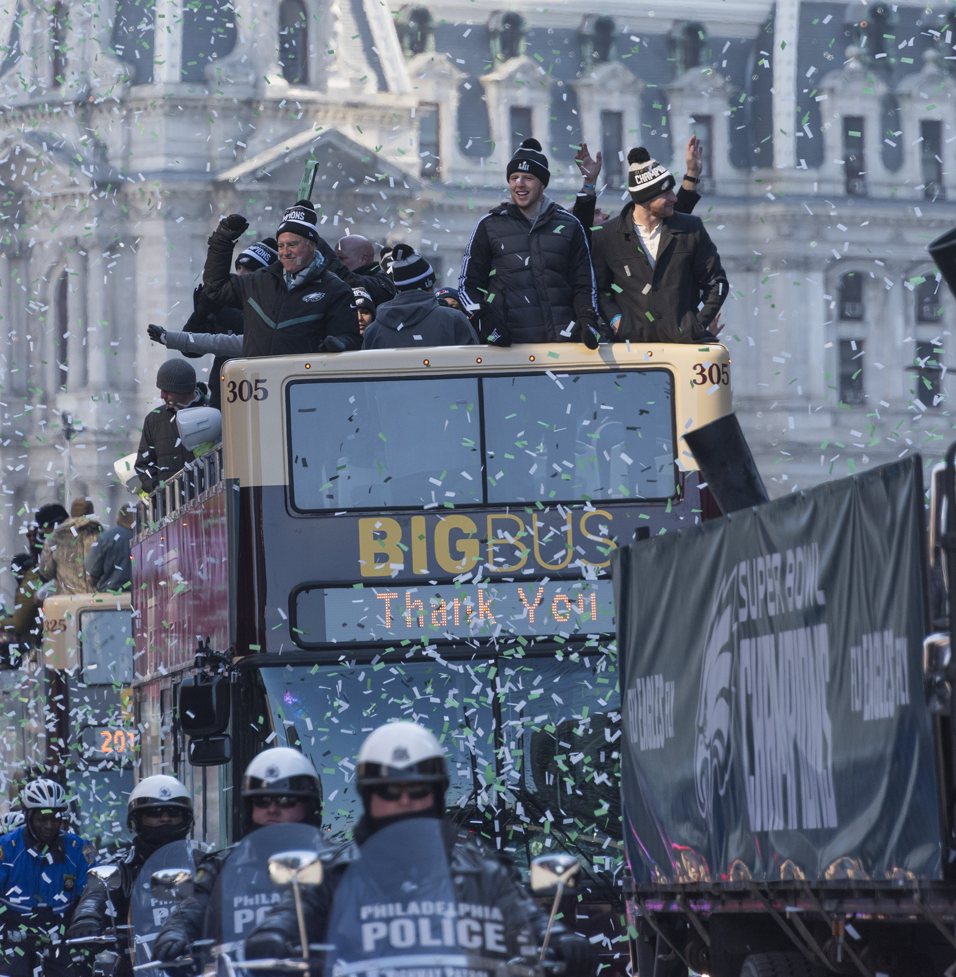 "<div class=""meta image-caption""><div class=""origin-logo origin-image none""><span>none</span></div><span class=""caption-text"">The Philadelphia Eagles celebrate their first Super Bowl championship with a parade and ceremony on February 8, 2018.</span></div>"