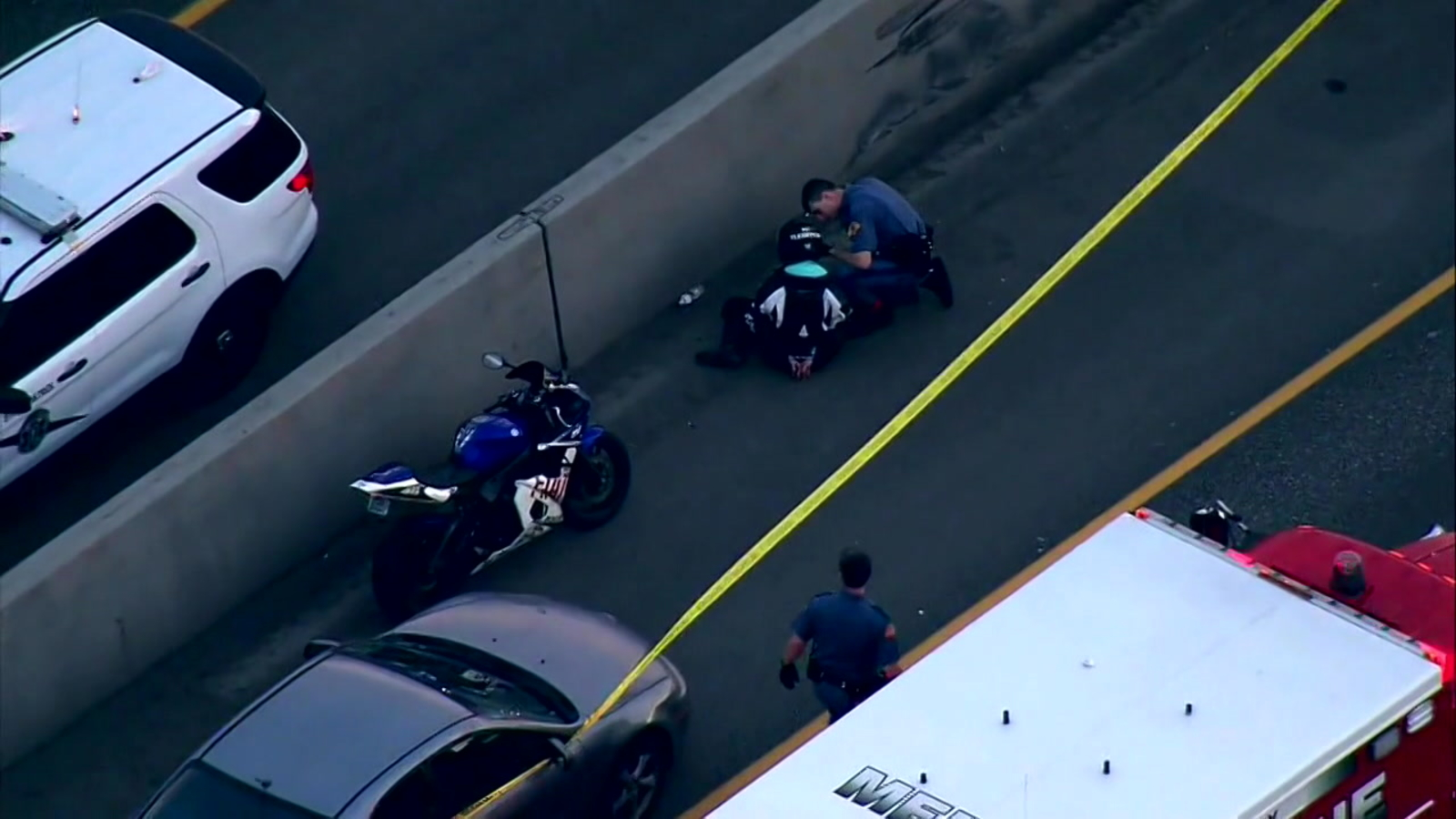 Motorcyclists shoots driver in road rage incident